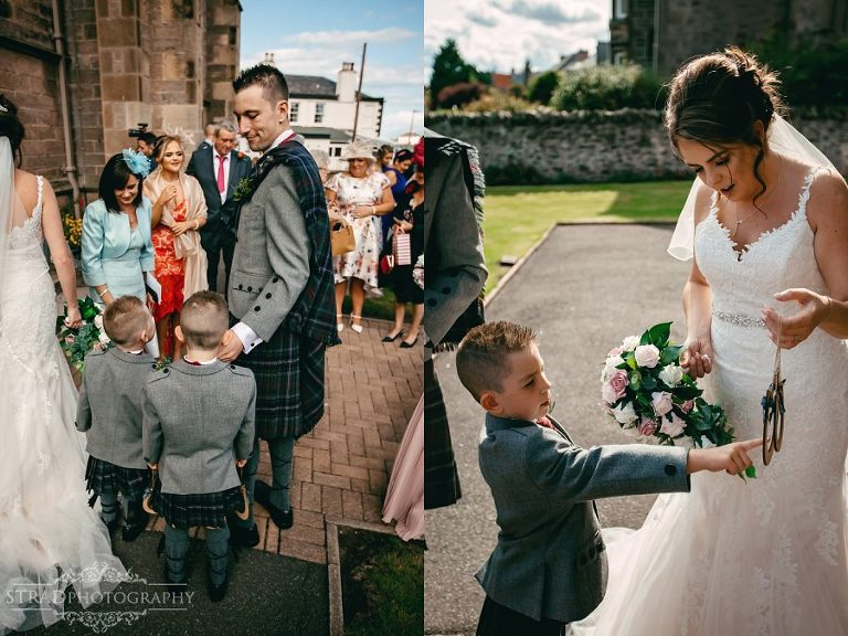 Eyemouth Golf Club Harbour Parish Church Scottish Borders Wedding