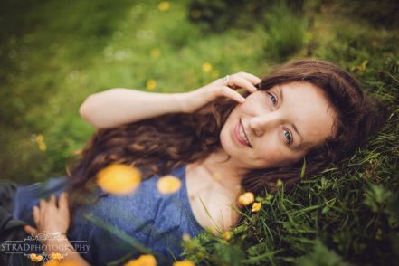 outdoor female portrait photography glasgow, woman, mother, scotland, summer. nature, flowers