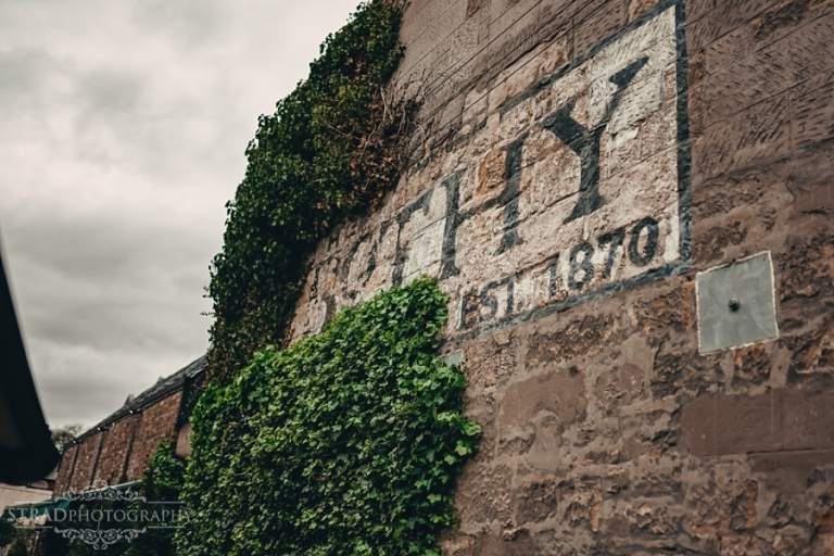 Front entrance of the Bothy restaurant in Glasgow